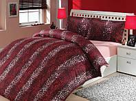 Красный комплект постельного белья евро размера Hobby сатин-Люкс Imperial
