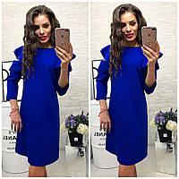 Платье 783/2 электрик синий
