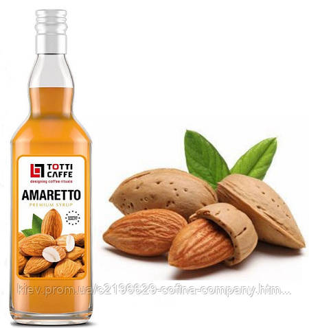 Наполнитель на основе сахарного сиропа Амаретто, 700мл.