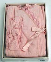 Soft cotton набор для сауны LUNA розовый M