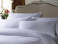 Белая наволочка 50х70 Hotel Stripe МИЛАНА