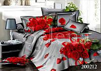 Букет красных роз Постельное белье ранфорс