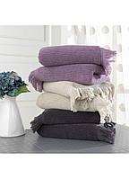 Полотенце Soft Cotton FRINGE 50*100 Коричневый 50x100