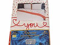 Комплект постельного белья Tirotex бязь полуторка полуторный 12