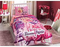 Постельное белье TAC DISNEY Barbi Princess Popstars полуторный