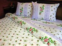 Комплект постельного белья Tirotex бязь евро 3