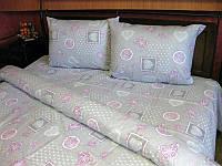 Комплект постельного белья Tirotex бязь евро 10
