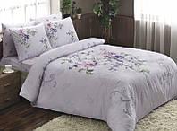 Комплект постельного белья TAC Ranforce Clementine Лиловый семейный (2 пододеяльника)
