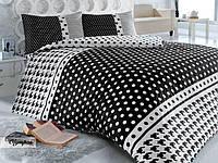 Комплект постельного белья HOBBY ранфорс OLYMPOS Черный полуторный черный