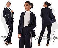 """Стильный женский костюм пиджак+брюки """" Lost"""" раз. 42-46"""