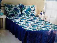Покрывало в спальню на кровать ASAL жатка 160*200