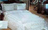 Красивое покрывало для кровати FF Белый 250x260