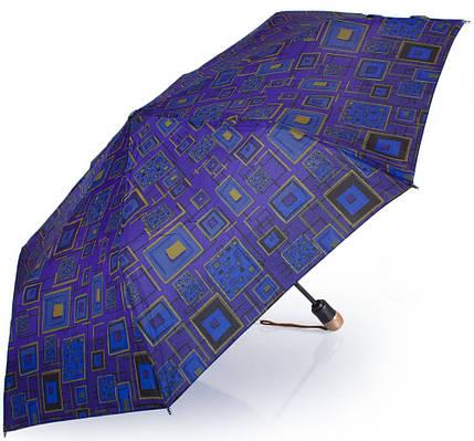 Женский зонт автоматический AIRTON Z3935-5082, синий, антиветер