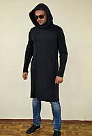 Мантия, мужское пальто трикотаж. Все как на фото
