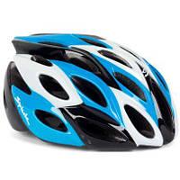 Шлем велосипедный Spiuk HELMET ZIRION 2014 BLUE/BLACK/ WHITE Size 53-61