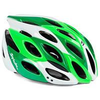 Шлем велосипедный Spiuk HELMET ZIRION 2014 GREEN/WHITE Size 53 - 61
