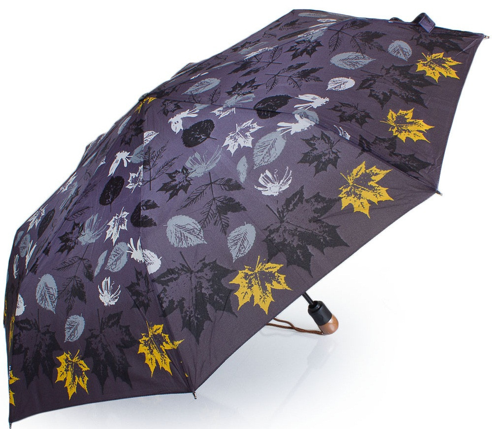 Женский, красивый зонт-автомат AIRTON Z3935-5096, цвет фиолетовый. Антиветер!