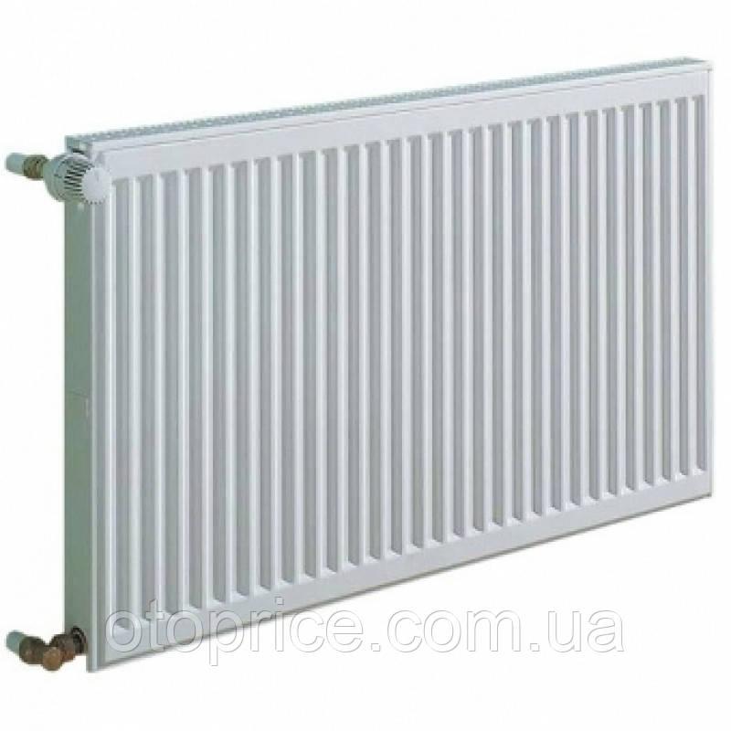 Стальной панельный радиатор Kermi тип 11 высота 300, бок.