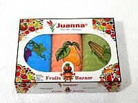 Салфетки махровые Juanna 3 штуки 30x50 4