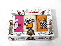 Салфетки махровые Juanna 3 штуки 30x50 6