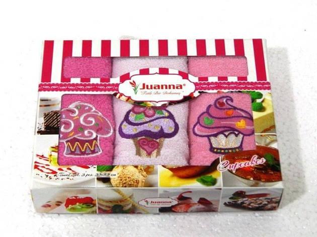 Салфетки махровые Juanna 3 штуки 30*50, 7, фото 2