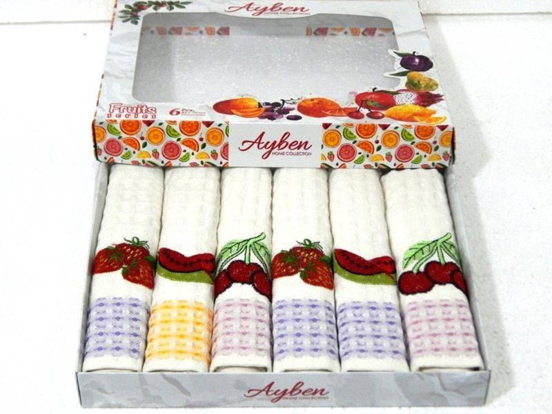Салфетки Ayben LUX фрукты 45*70