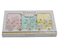 Салфетки махровые 3D Vianna 30*50 3 штуки 30x50 1