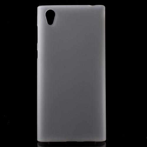 Чехол накладка силиконовый TPU Soft для Sony Xperia L1 белый