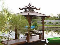 Беседка из дерева Китай