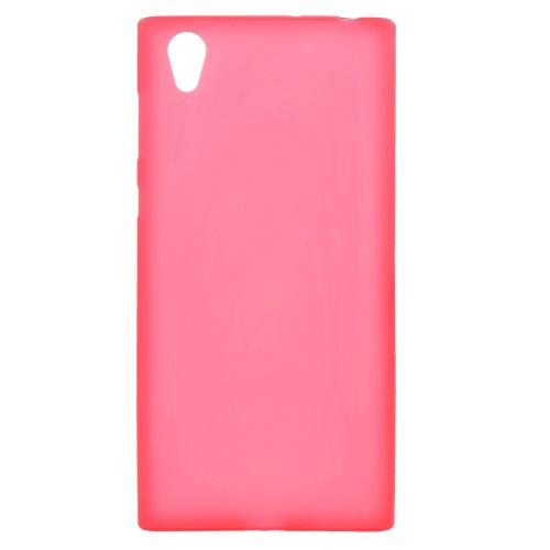 Чехол накладка силиконовый TPU Soft для Sony Xperia L1 красный