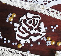 Чипборд для скрапбукинга Роза 6,7*6 см