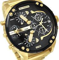 Мужские часы Diesel Men's DZ7333 Gold