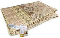 Одеяло шерстяное межсезонье 140x205см, овечья шерсть 100%, Leleka-Textile