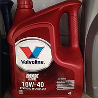 Моторное масло Valvoline maxlife 10w40