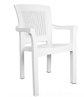 Кресло пластиковое Irak Plastik Side белый