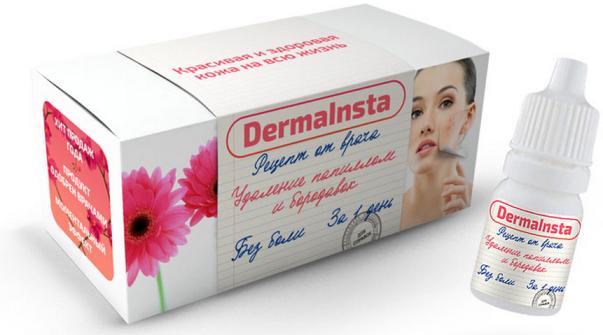 Dermainsta – капли от папиллом и бородавок, Дермаинста эффективное лечение бородавок и папиллом - Интернет магазин Best Goods в Киеве