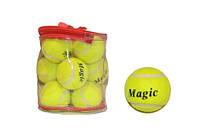Мяч для большого тенниса, высший сорт. В сумочке, 12 шт.