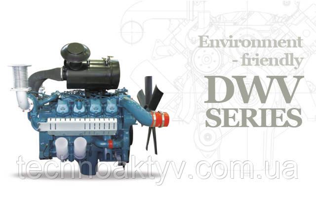DWV - серия двигателей DAEWOO - экологичные