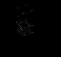 Соединитель штыря заземлителя и полосы