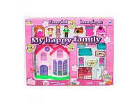 "Домик для кукол ""My happy Family"" (+ свет, звук) с аксессуарами, 8033"
