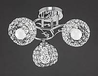 Люстра хрустальная на три лампы AR-004070
