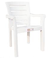Кресло пластиковое Irak Plastik Didim белый