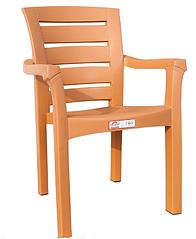 Кресло пластиковое Irak Plastik Didim белый тик