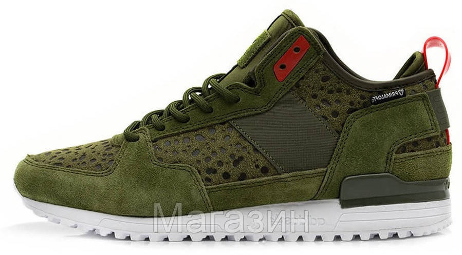 Мужские кроссовки Adidas Originals Military Trail Runner Green, Адидас Ориджинал хаки