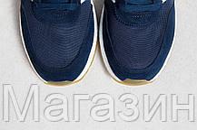 Мужские спортивные кроссовки Adidas Iniki Runner Boost Navy, Адидас Иники синие, фото 3