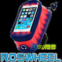 Велосипедная сумка на раму для смартфона Roswheel 121024 Toss