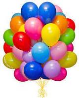 """Гелиевые шары 9"""" (22 см) ассорти"""