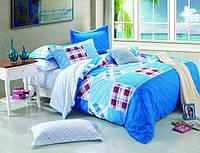 Комплект постельного белья Сатин печатный, BV S 0033 евро