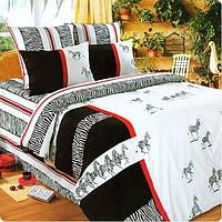 Love You сатин Элегант семейный (2 пододеяльника) Комплект постельного белья