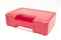 Футляр для аптечки пластиковий (первинний полімер) червоний